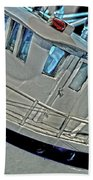 Fishing Boat Hdr Bath Towel