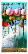 Fishing Buoys Bath Towel