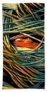 Fishing  Rope  Hand Towel by Colette V Hera Guggenheim