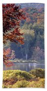 Fishing The Adirondacks Bath Towel