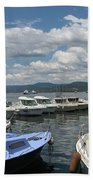 Fishingboats Bath Towel