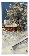 Five Mile Winter's Barn #9862 Hand Towel