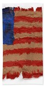 Flag 2 Bath Towel