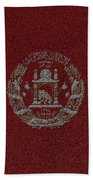 Flag Of Afghanistan Bath Towel
