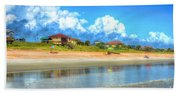 Flagler Beach Morning Hand Towel