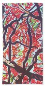 Flamboyant Beauty Hand Towel