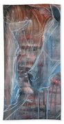 Flamenco Bath Towel by Jani Freimann