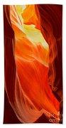 Flames At Upper Antelope Bath Towel