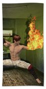 Flames Of Desire Bath Towel