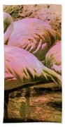 Flamingo - Id 16217-202804-4625 Bath Towel