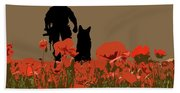 Flanders Fields 11 Bath Towel