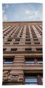 Flatiron Building Sky Color Bath Towel