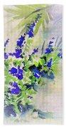 Fleurs Bath Towel