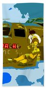 Flight Of The Apache Princess Bath Towel