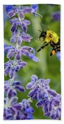 Flight Of The Bumble Bee Bath Towel