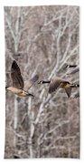 Flock Of Geese Bath Towel