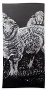 Flock Of Sheep Bath Towel