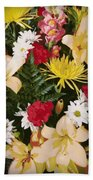 Floral 1 Bath Towel