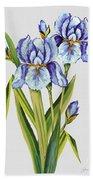 Floral Botanicals-jp3786 Bath Towel