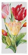 Floral Botanicals-jp3788 Bath Towel