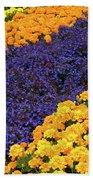 Floral Carpet Bath Towel