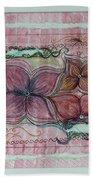 Floral Fantasy Bath Towel