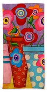 Floral Happiness Bath Towel