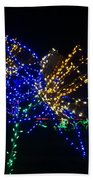 Floral Lights Bath Towel