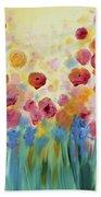 Floral Splendor II Bath Towel
