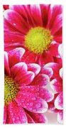 Floral Wallpaper Bath Towel