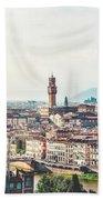 Florence Italy Bath Towel