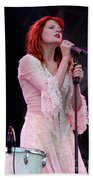 Florence Welch Singer Of Florence And The Machine Performing Live - 002 Bath Towel