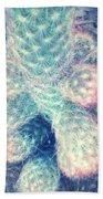 Florida Cactus Photograph Bath Towel
