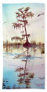 Florida Everglades Study # 1 Bath Towel