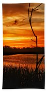 Florida Sunset  Bath Towel