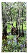 Florida Swamp Bath Towel