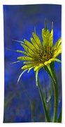 Flower And Flax Bath Towel
