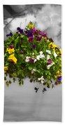 Flower Basket Bath Towel