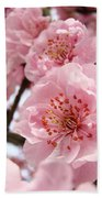 Flower Blossoms Art Spring Trees Pink Blossom Baslee Troutman Bath Towel