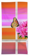 Flower Color Hand Towel