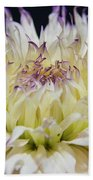 Flower Dahlia. Macro Bath Towel