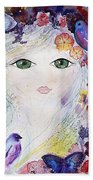 Flower Fairy Bath Towel