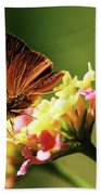 Flower Garden Friend Bath Towel