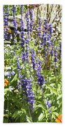 Flower Garden Bath Towel