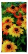 Flower Sunshine Bath Towel
