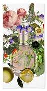 Flowerbomb Notes - By Diana Van Bath Towel
