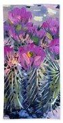 Flowering Cactus Bath Towel