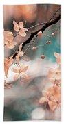 Flowering Tree. Nature In Alien Skin Hand Towel