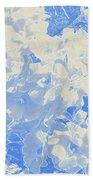 Flowers Abstract 2 Bath Towel