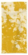Flowers Abstract 3 Bath Towel